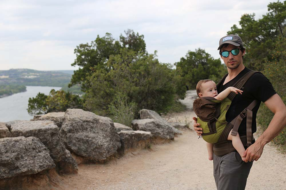 Park you butt on these rocks at Mount Bonnell