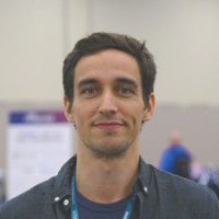 A picture of tyler garrett taken at alteryx 2018 thing