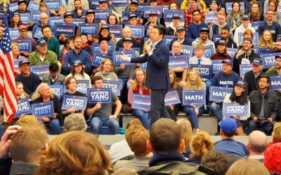 Andrew Yang, Not for Bernie, Not for the People, Not a Leader